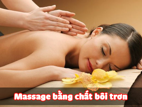 Massage bằng chất bôi trơn