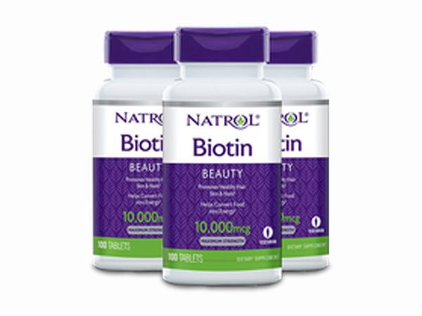 Thuốc mọc râu Biotin bào chế dạng viên uống