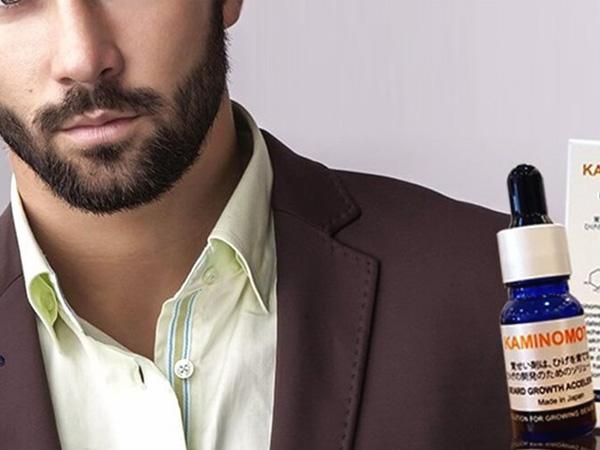 Thuốc mọc râu Kaminomoto - đem lại bộ râu chuẩn men