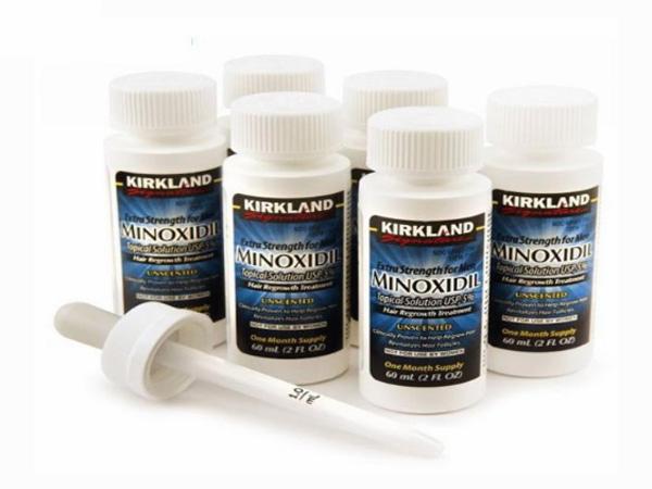 Thuốc mọc râu Minoxidil - an toàn cho người sử dụng