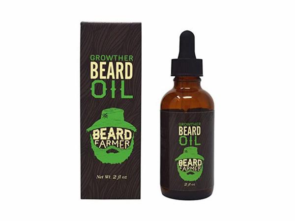 Hình ảnh hộp thuốc mọc râu Beard Growth Oil